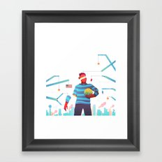 The Pioneers of Paterson Framed Art Print