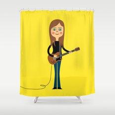 Guitar Hero Shower Curtain