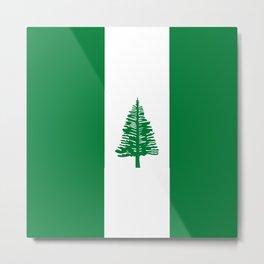 flag of norfolk Metal Print