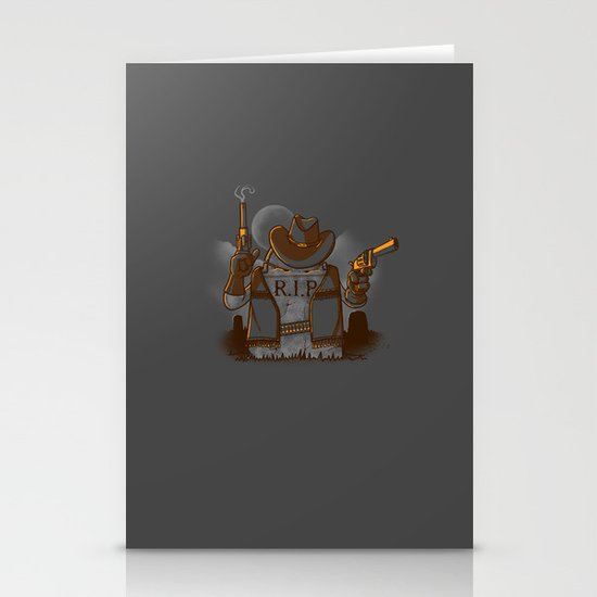 Tombstoned Stationery Cards