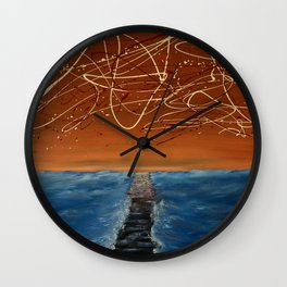 Death Of A Boardwalk Wall Clock
