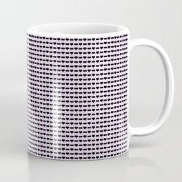 Heartless Pattern in Lavender Coffee Mug