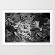 silver lining Art Print