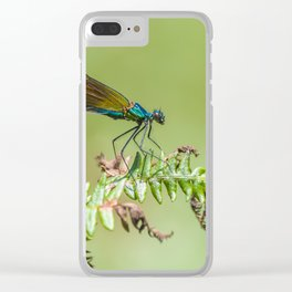 Summer lady Clear iPhone Case