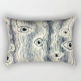 Eye See Everything Rectangular Pillow