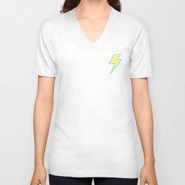 Bolt - Yellow Unisex V-Neck