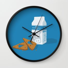 Milk & Triforce Cookies Wall Clock