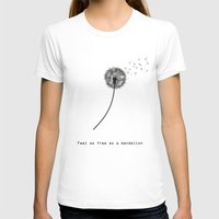 wwe T-shirts featuring Feel as free as a dandelion by eARTh