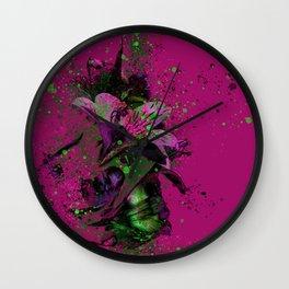 flower#2 Wall Clock