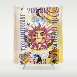 You are the Brightest Star Shower Curtain