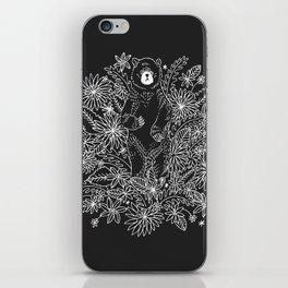 Botanical Bear Garden iPhone Skin