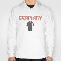 germany Hoodies featuring Go Germany! by Bunhugger Design