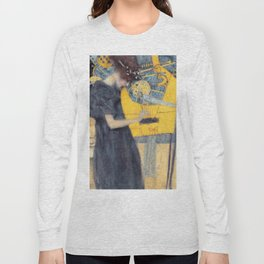"Gustav Klimt ""Music (Die Musik)"" Long Sleeve T-shirt"