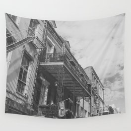 New Orleans French Quarter Wall Tapestry