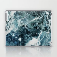Blue Sea Marble Laptop & iPad Skin