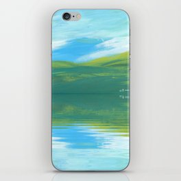 The Clearing With Reflection iPhone Skin