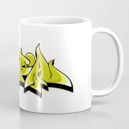 kira graffiti tag hip hop green  graffiti style Coffee Mug