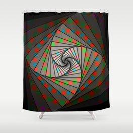 Fibonacci Spin, 2140d Shower Curtain