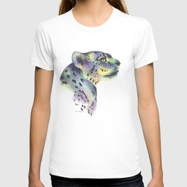 snow leopard bright T-shirt