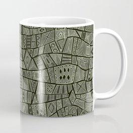 ESHE charcoal mono Coffee Mug