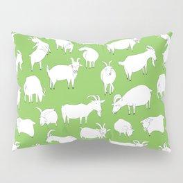 Green Goats Pillow Sham