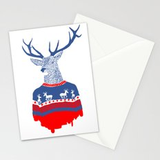 Ugly winter pulover Stationery Cards