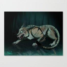 Subject #1504 Canvas Print