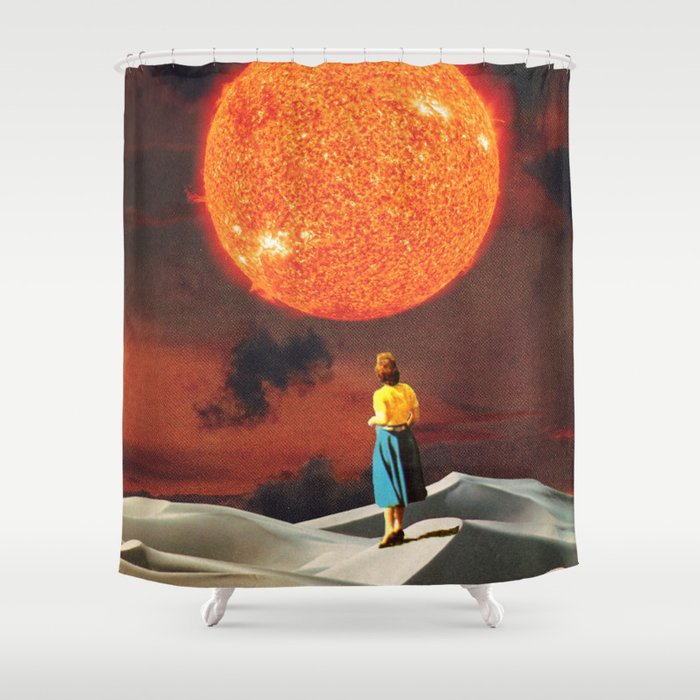Your Heart Is The Sun Shower Curtain