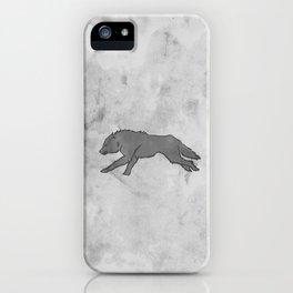 Wolf Banner iPhone Case