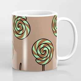 Mint Chocolate Lollipop Coffee Mug