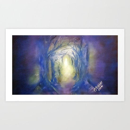 Enlightened Path Art Print