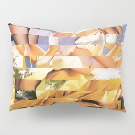 Glitch Pin-Up Redux: Xena Pillow Sham