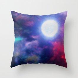 Beyond Infinity Throw Pillow