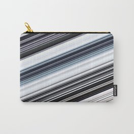 silver stripes Carry-All Pouch