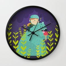 Night adventures Wall Clock