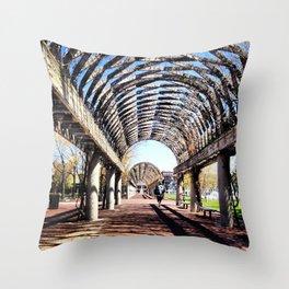 Vine Canopy Throw Pillow