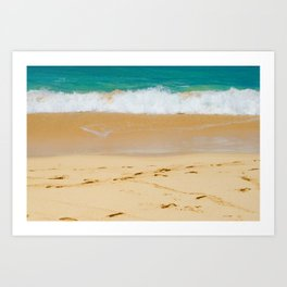 Shoreline Beach Art Print