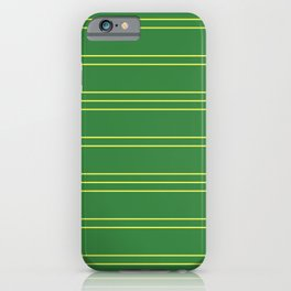Simple Lines Pattern gy iPhone Case