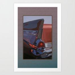 Coppertone Belair Art Print
