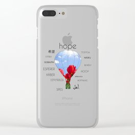 The Globe of Hope Clear iPhone Case