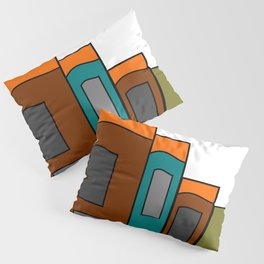 Creative Reading - Zine Page Graphics Pillow Sham