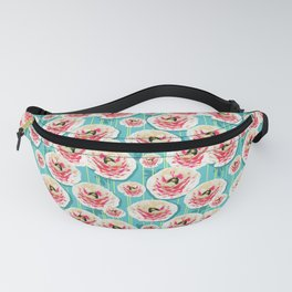 Summer Bloom #floral #pattern Fanny Pack