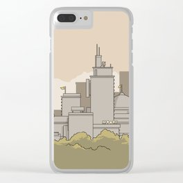 City #3 Clear iPhone Case