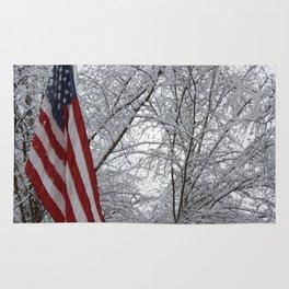 American Snow Rug
