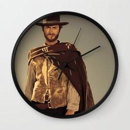 Clint Eastwood Wall Clock