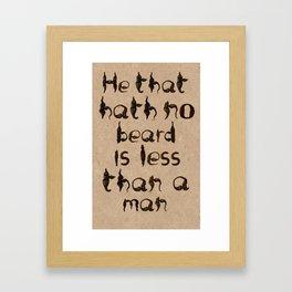 Shakespeare's Macbeth Framed Art Print