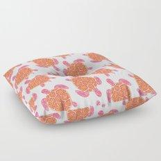 Sea Turtle – Melon Palette Floor Pillow