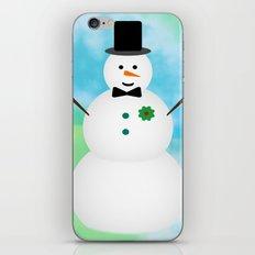 Snowman iPhone & iPod Skin