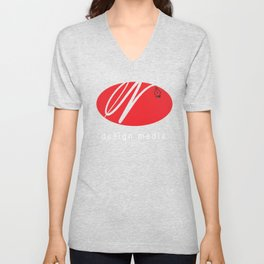 EZDESIGN MEDIA Unisex V-Neck