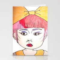 shopping Stationery Cards featuring shopping by mayubonne